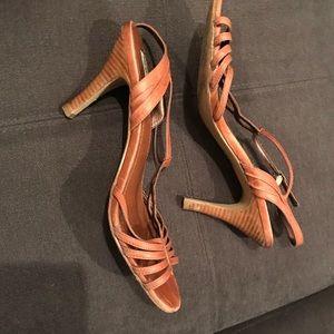 Steve Madden Brown Strappy Heels